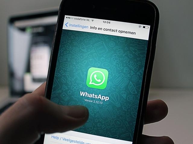 Kun je ook via Whatsapp daten?